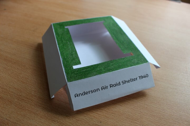 model anderson shelter base step 3