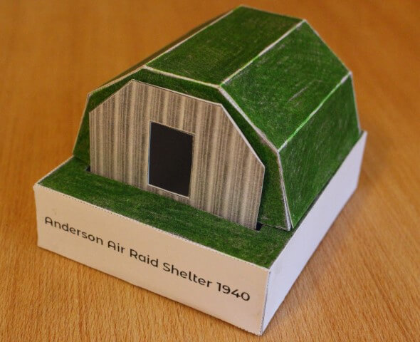 Model Anderson Shelter