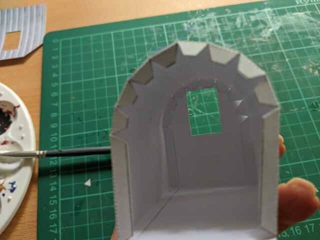 model anderson shelter step 6