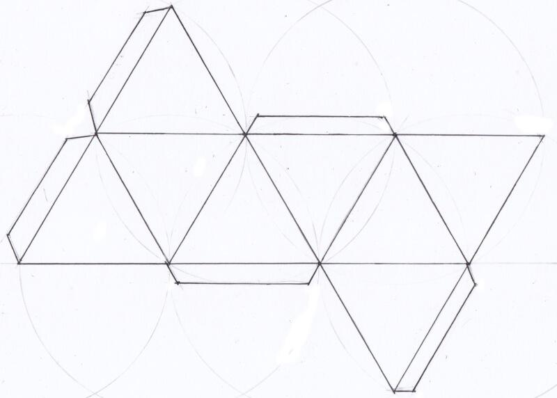 Finished Octrahedron Net