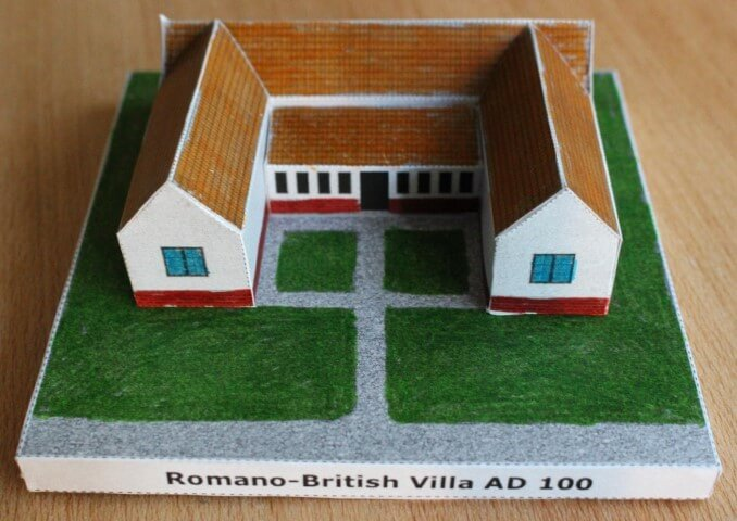Make a Model Roman Villa