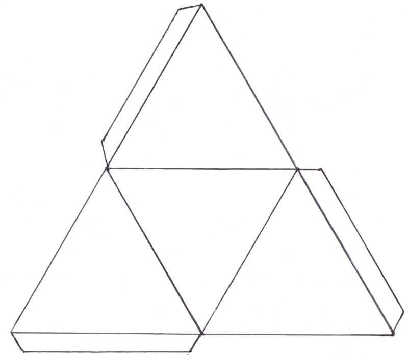 Net of a Tetrahedron